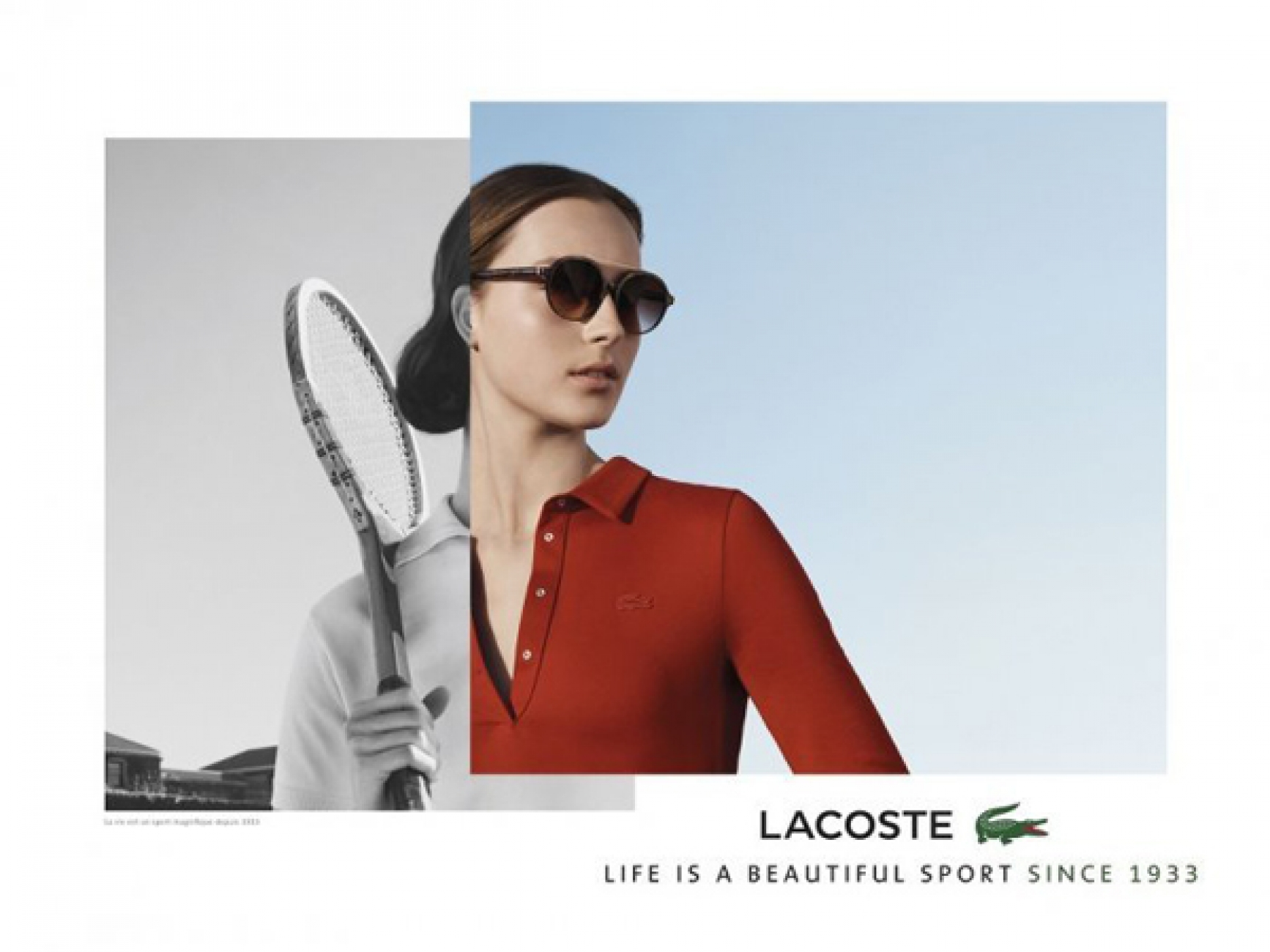 6bd6ef04b4 Julia for the Lacoste FW 17 18 Campaign