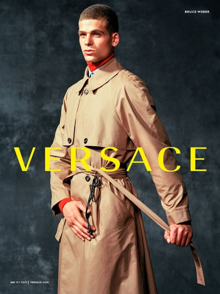 Barry by bruce weber for versace fw17 campaign
