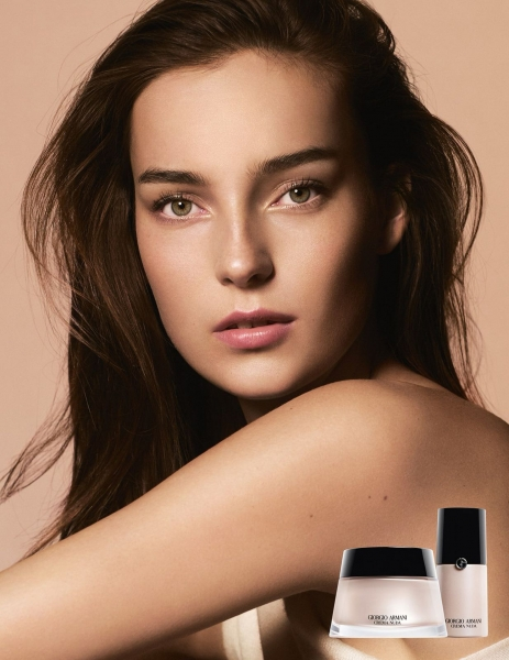 Julia you beautiful thing <3 New for Armani Beauty Campaign