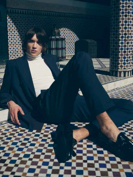 Yves Saint Laurent feels for De Standaard Magazine with Bill in Marrakech