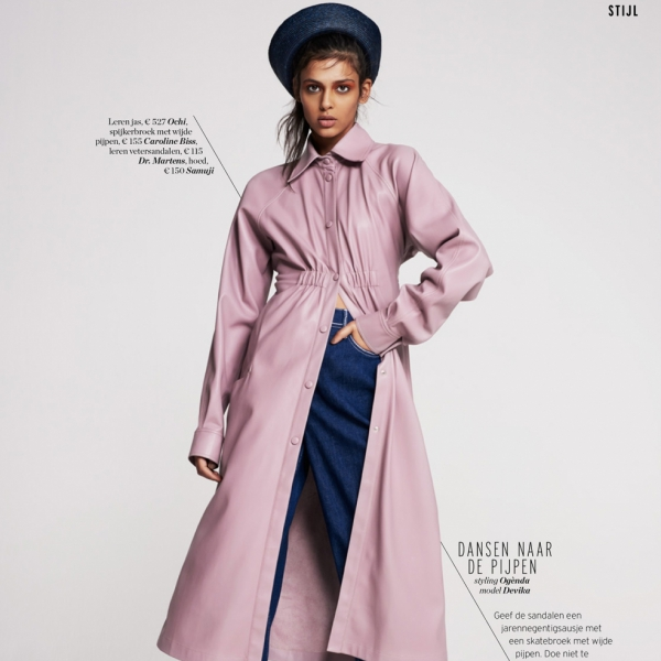 Devika for Elle Super Trio