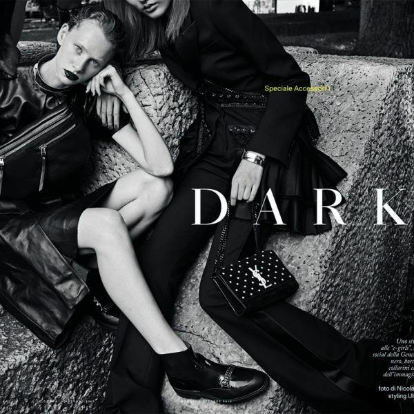 Dark Angel Lotka for iO Donna Magazine