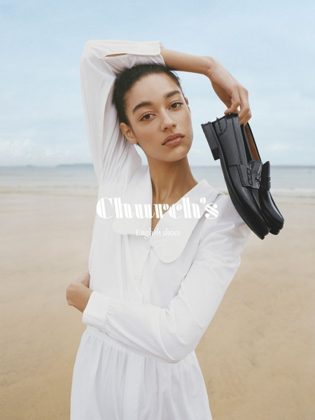 Damaris for the new Church's SS20 campaign