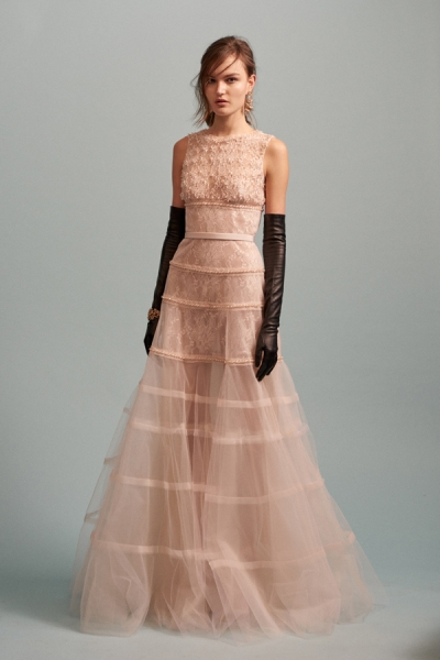 Esmee for Oscar de la Renta Pre Fall 2016