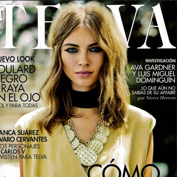 Beautiful Djaja for Telva Magazine