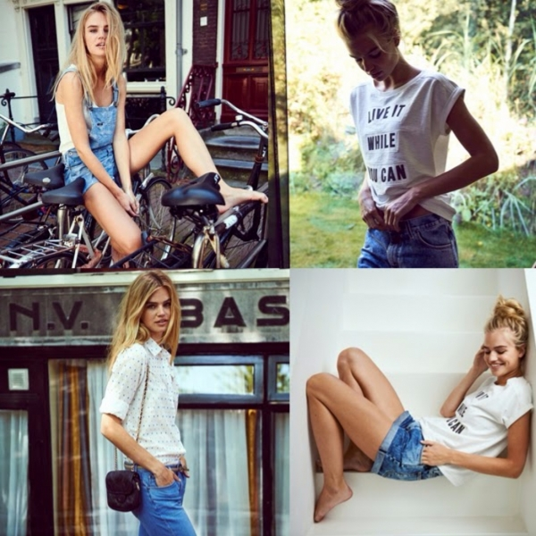 Milou for Lee Jeans S/S15