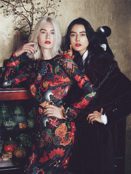 Nikki & Emily Jeanne for De Morgen Magazine