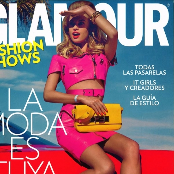 Nora Ponse covers Glamour Spain