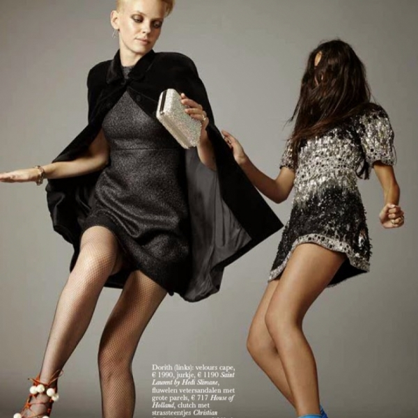 Marilyn & Dorith busting a move for Elle NL