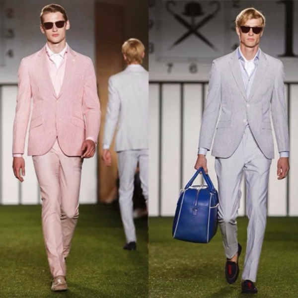London Fashion Week Menswear S/S15