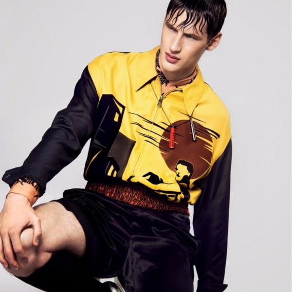 Tino Thielens for Essential Homme USA
