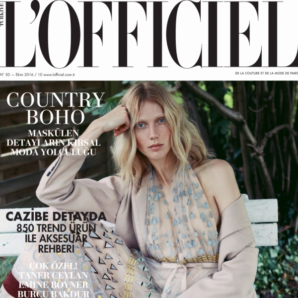 Annely for L'Officiel Turkey