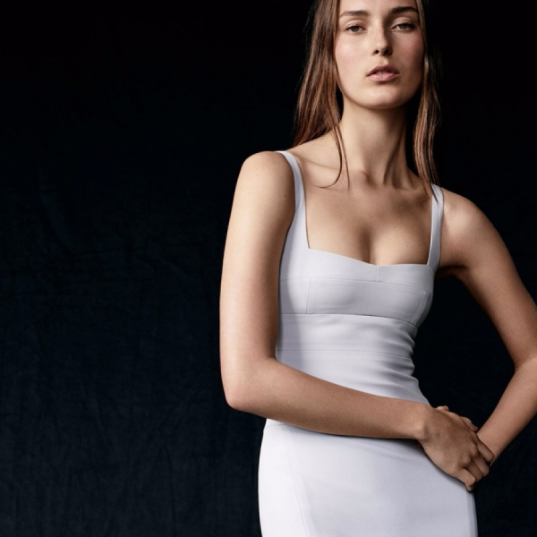 Julia for Narciso Rodriguez Resort 18